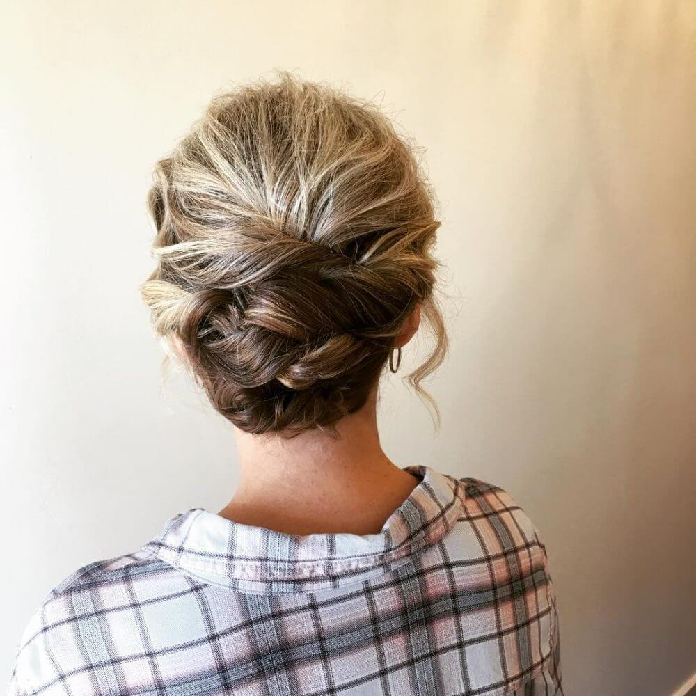 Updo with Short Hair - Learn How to Do