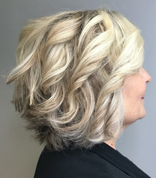 attractive hairdos for over 60 yr old women