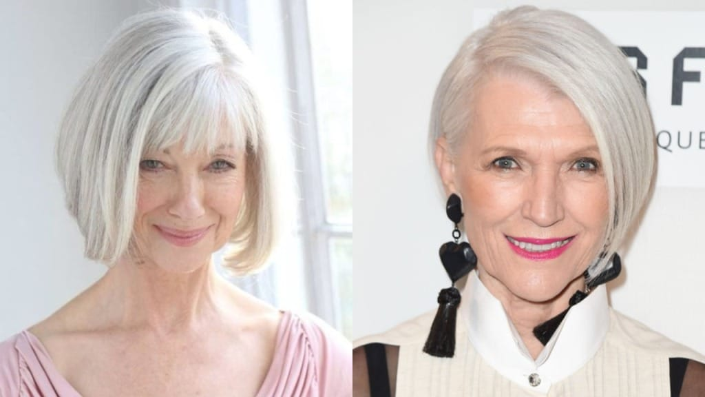 20 Beautiful Bob Hairstyles for Women Over 60