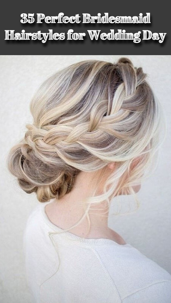 Bridesmaid Hairstyles for Wedding