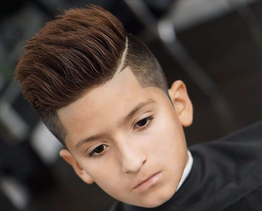 55 Stunning Hairstyles for Little Boys