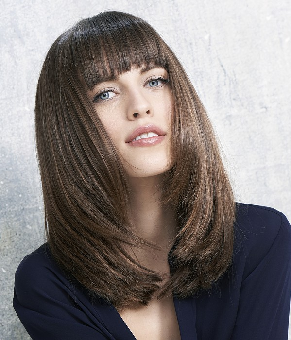 30 Beautiful Hairstyles For Long Faces Women Hairdo Hairstyle