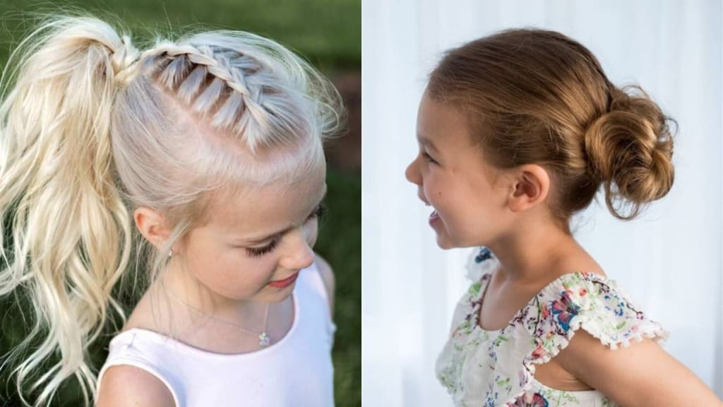 30 Beautiful Hairstyles for School Girls