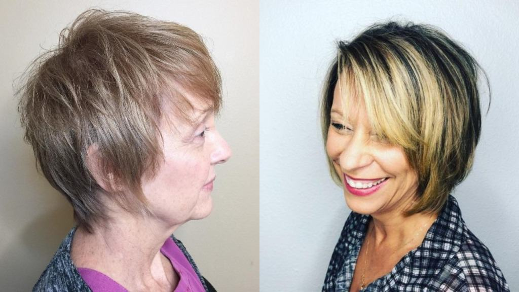 30 Hairstyles for Women Over 60 with Fine Hair
