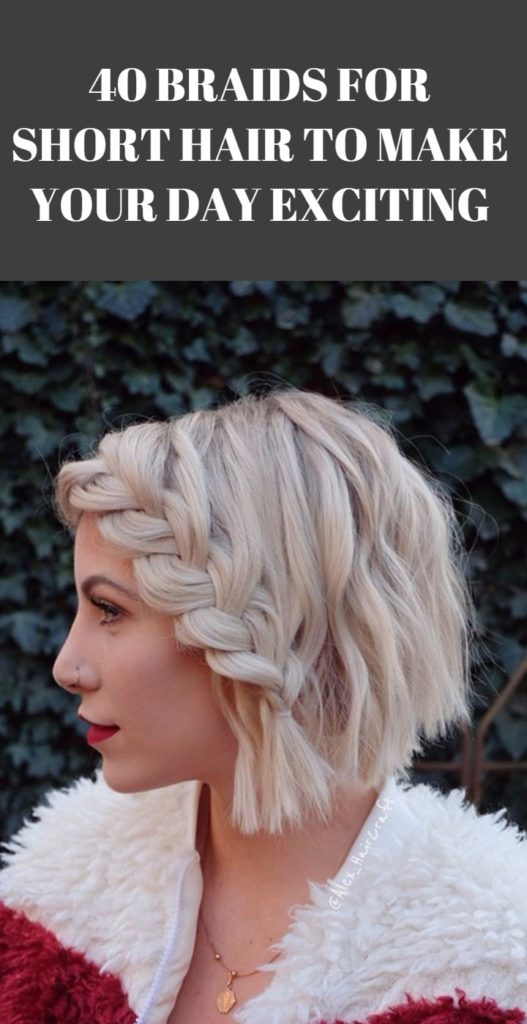 Braids Hairstyle for Short Hair