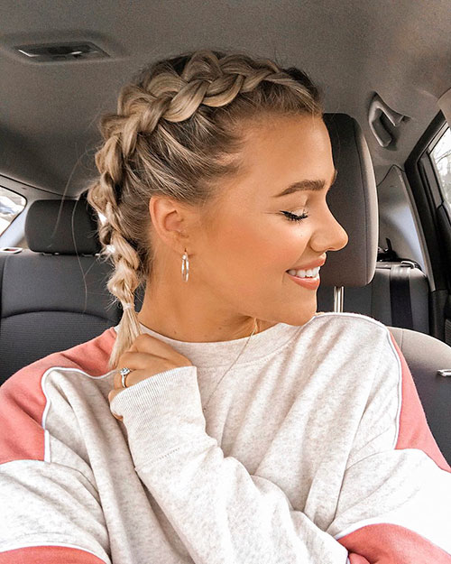 40 Braids For Short Hair To Make Your Day Exciting Hairdo Hairstyle