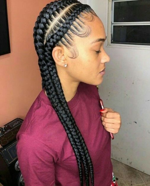 25 Lucrative And Sassy Feed In Braids Hairstyles Hairdo Hairstyle