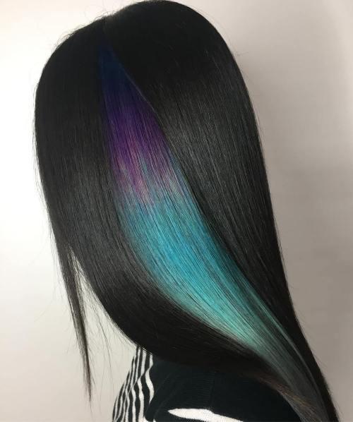 Peek A Boo Hair Colors