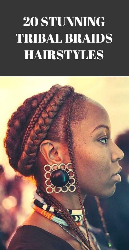 Tribal Braids Hairstyles