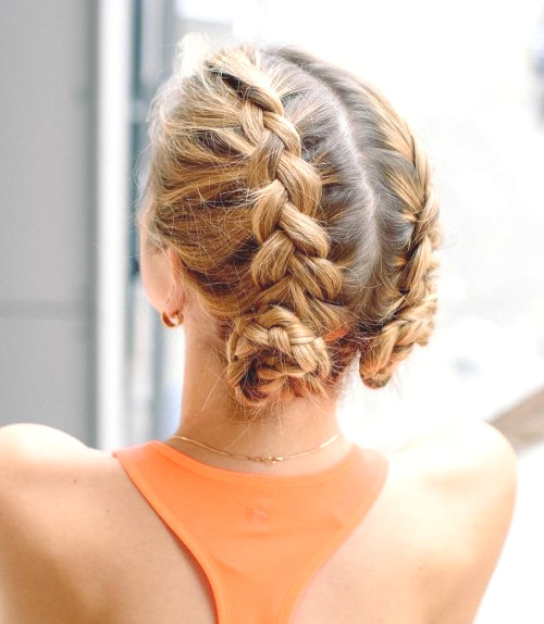Two Braids Hairstyles