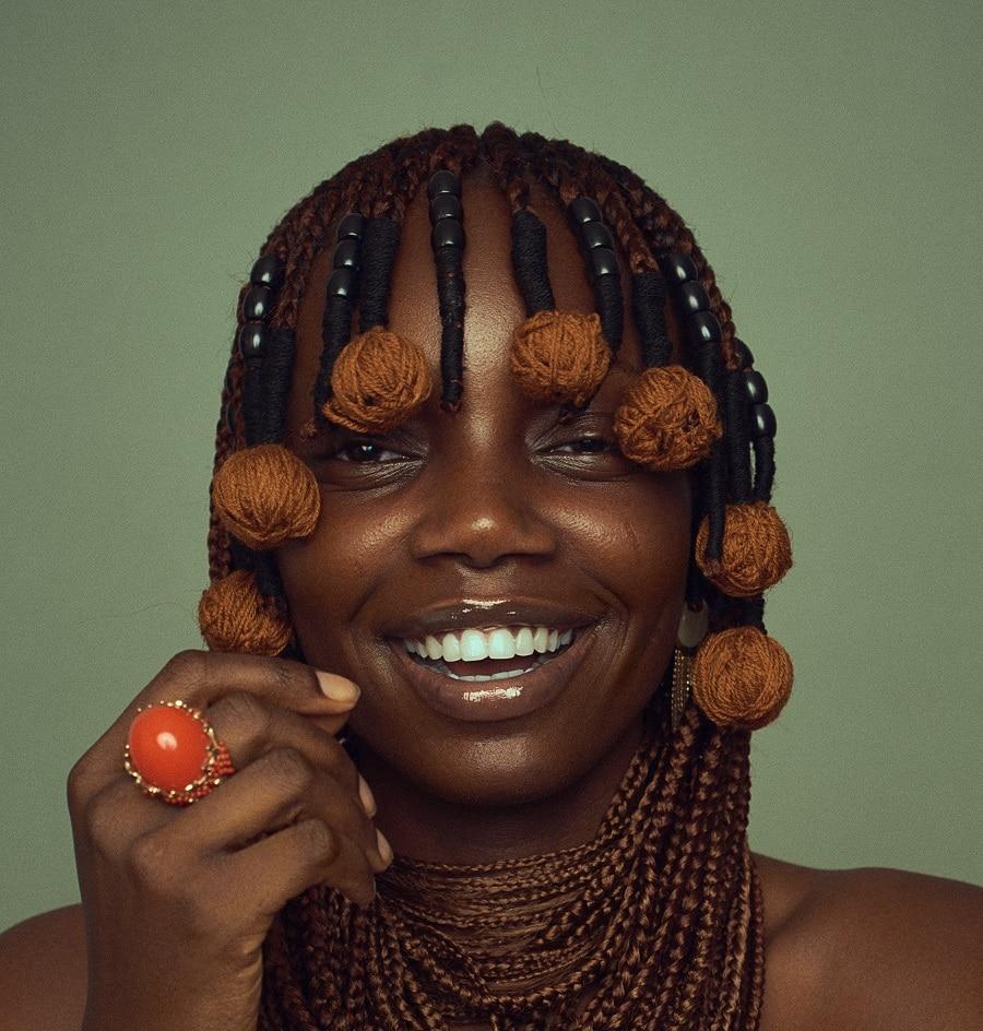 tribal braids hairstyle