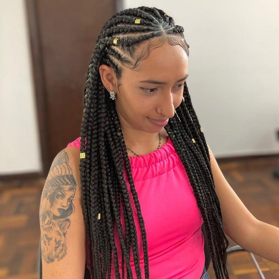 best tribal braid hairstyles