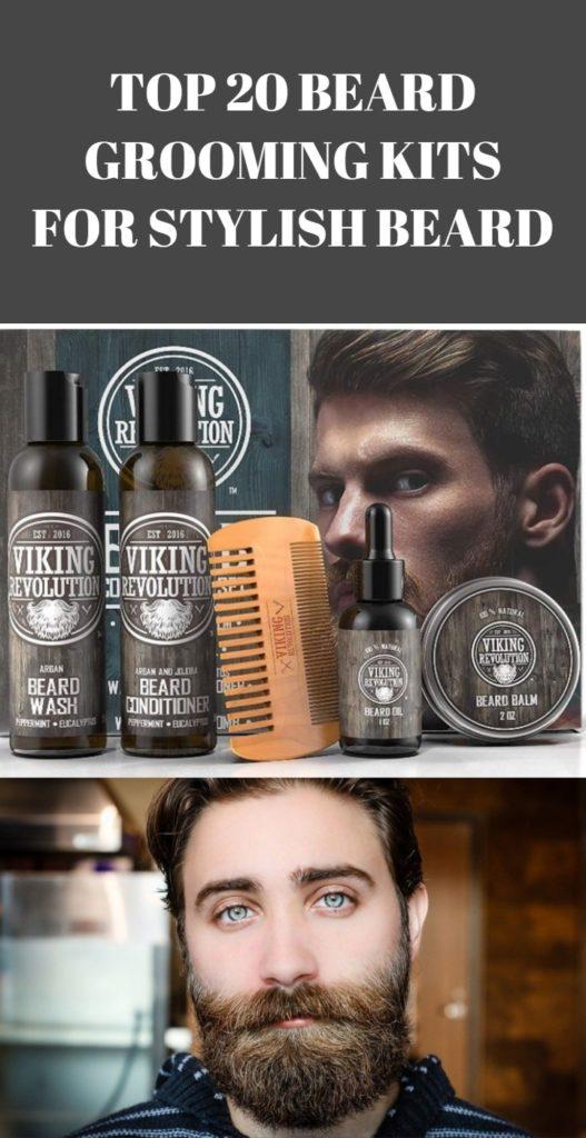 Beard Grooming Kits for Stylish Beard