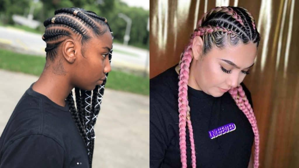 25 Lucrative and Sassy Feed in Braids Hairstyles