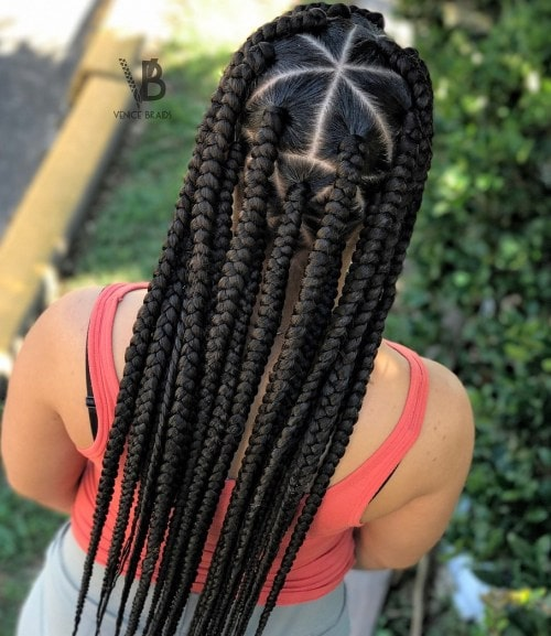 Triangle Braids
