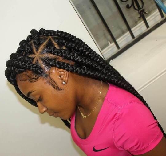 Triangle Braids