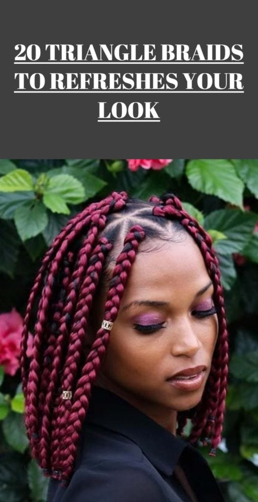 Triangle Braids Hairstyles