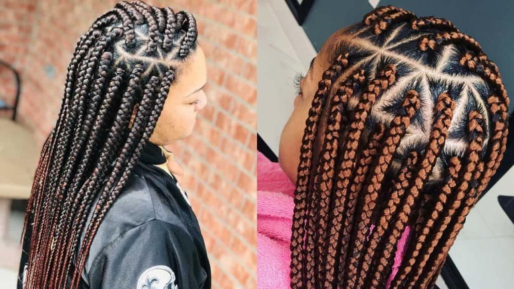 20 Triangle Braids To Refreshes Your Look