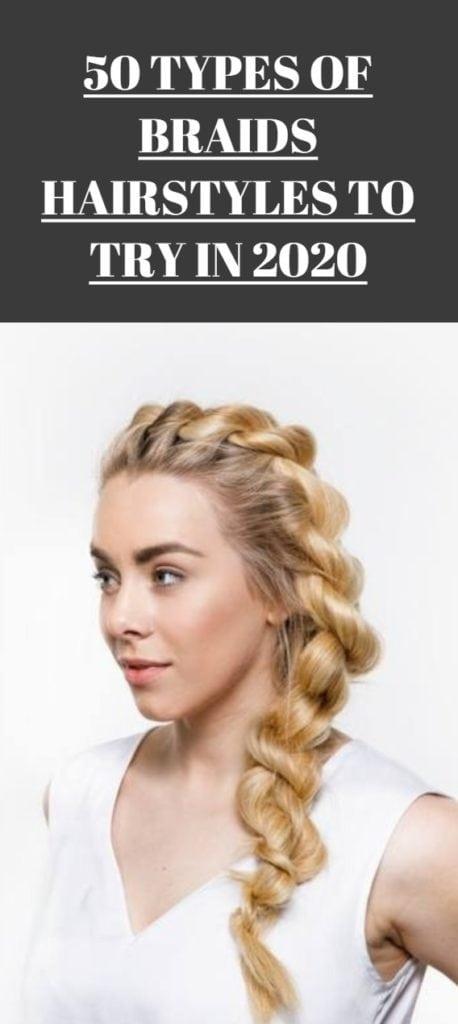 Types of Braids Hairstyles