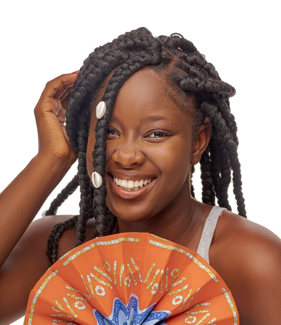 african braid for thick hair