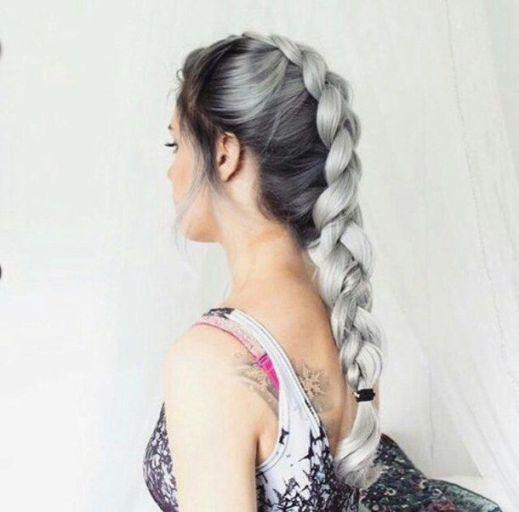 Elsa Inspired Braids