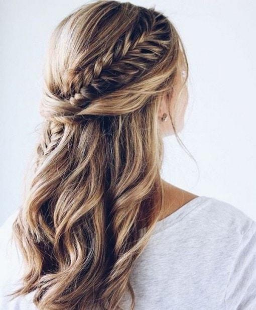 Wedding Hairstyle Down: 25 Best Half Up Half Down Wedding Hairstyles
