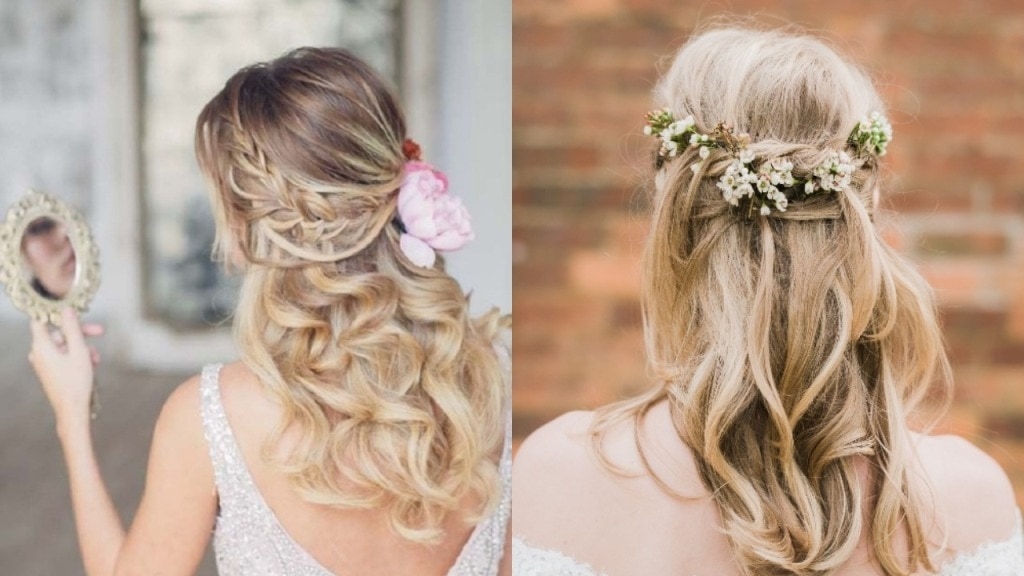 25 Best Half Up Half Down Wedding Hairstyles
