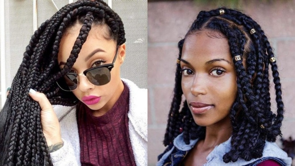 Amazing 30 Jumbo Braids Hairstyles For A Cool Look Hairdo Hairstyle Schematic Wiring Diagrams Amerangerunnerswayorg