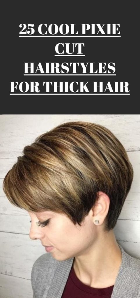 Pixie Cut Hairstyles for Thick Hair