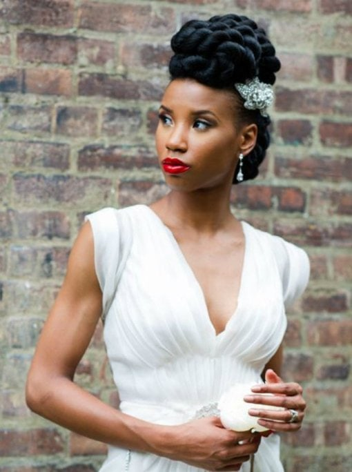 Wedding Hairstyles for Black Women