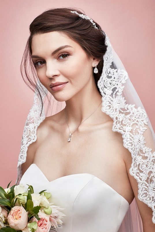 30 Wedding Hairstyles with Veil: Look the Prettiest Bride Ever | Hairdo Hairstyle