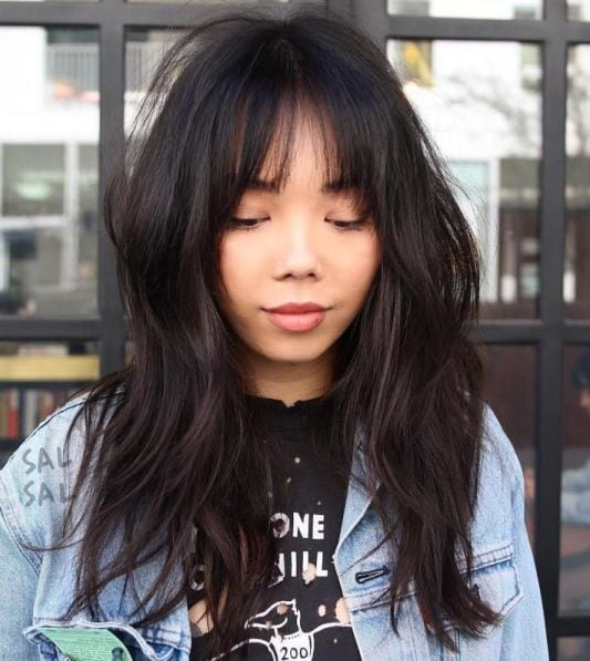 Asian Medium Hairstyles