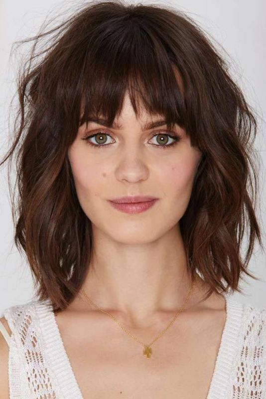 Choppy Bobs Medium Hairstyles