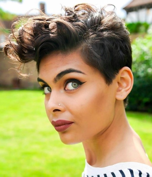Curly Pixie Cut Hairstyles