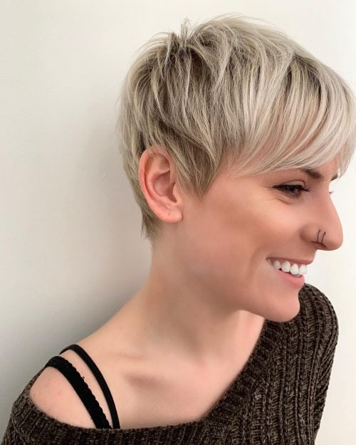 Edgy Pixie Cut Hairstyles