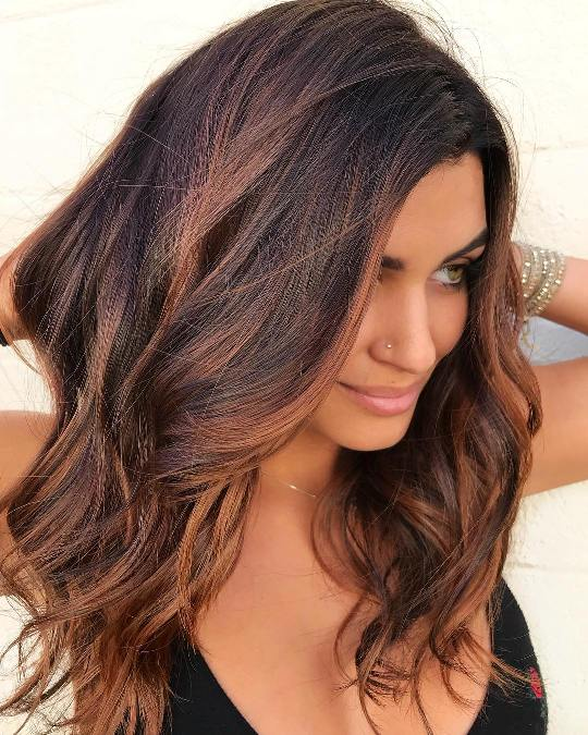 25 Gorgeous Hair Colors For Morena Skin Hairdo Hairstyle,Best Color Combinations With Orange