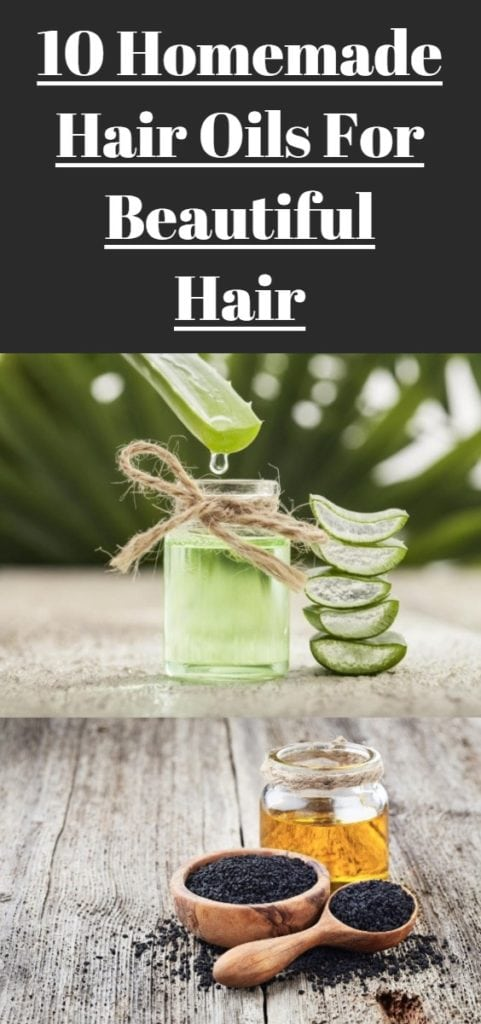 Homemade Hair Oils