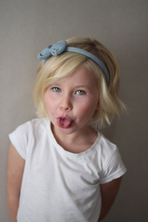 Short Hairstyle For Kids