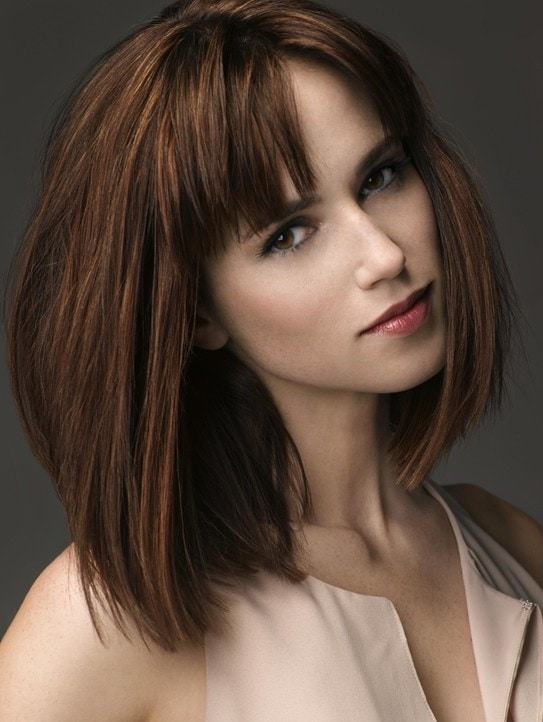 Medium Hairstyles with Fringes