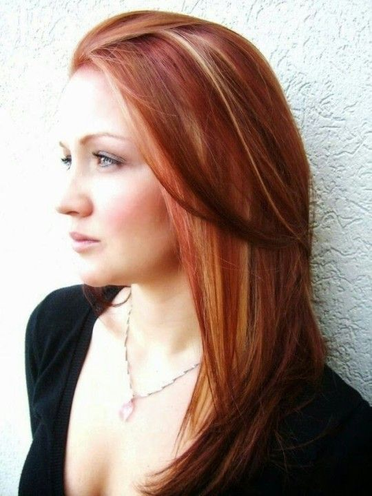 Medium Hairstyles with Highlights