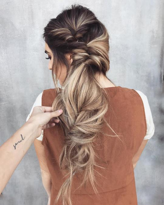 Messy Long Hairstyles