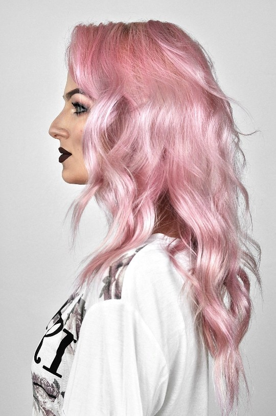 Pink Hair Color