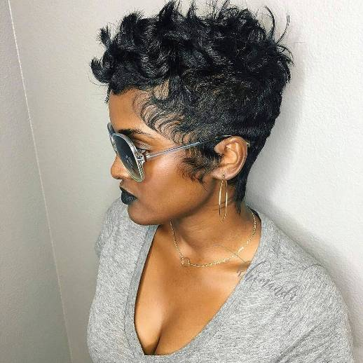 20 Beautiful Pixie Cut Hairstyles For Black Women Hairdo Hairstyle