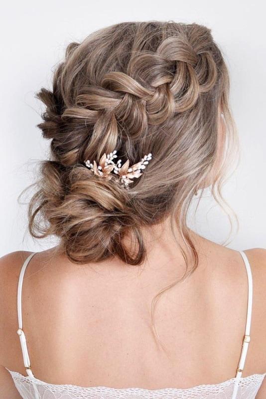 Wedding Hairstyles With Braids