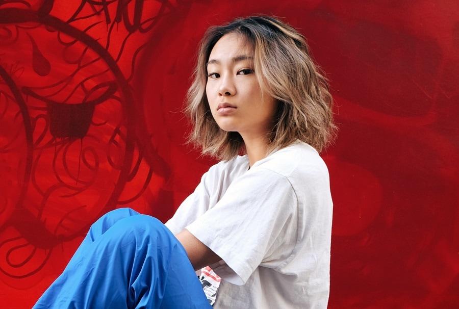 medium Asian ombre bob