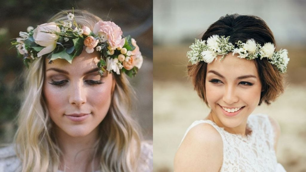 25 Absolutely Gorgeous Wedding Hairstyles With Flowers