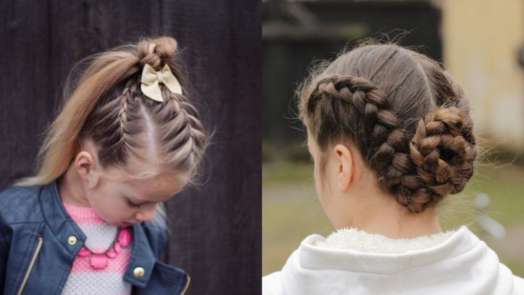 20 Adorable Hairstyles for Kids with Braids