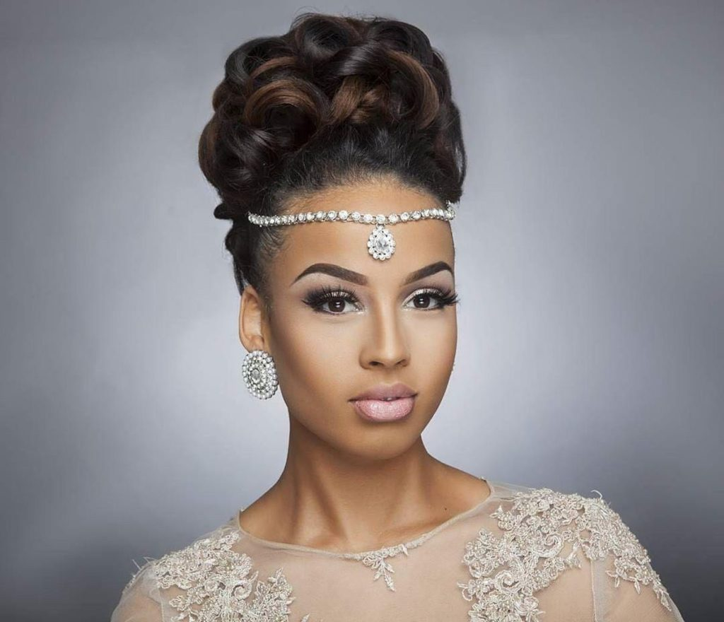 25 Amazing Wedding Hairstyles For Black Women In 2020