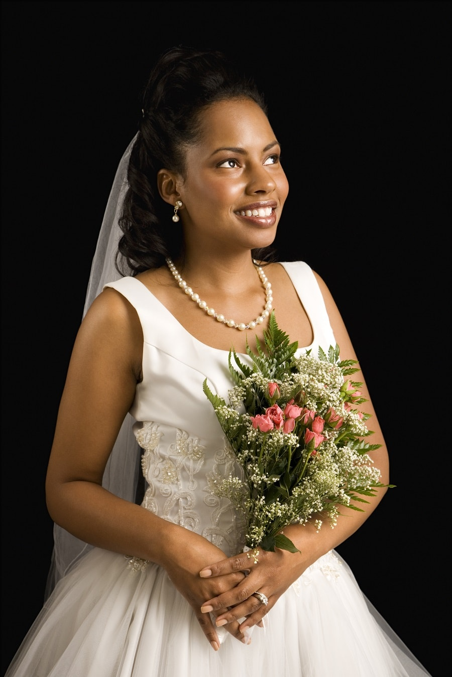 short wedding hairstyles for black women