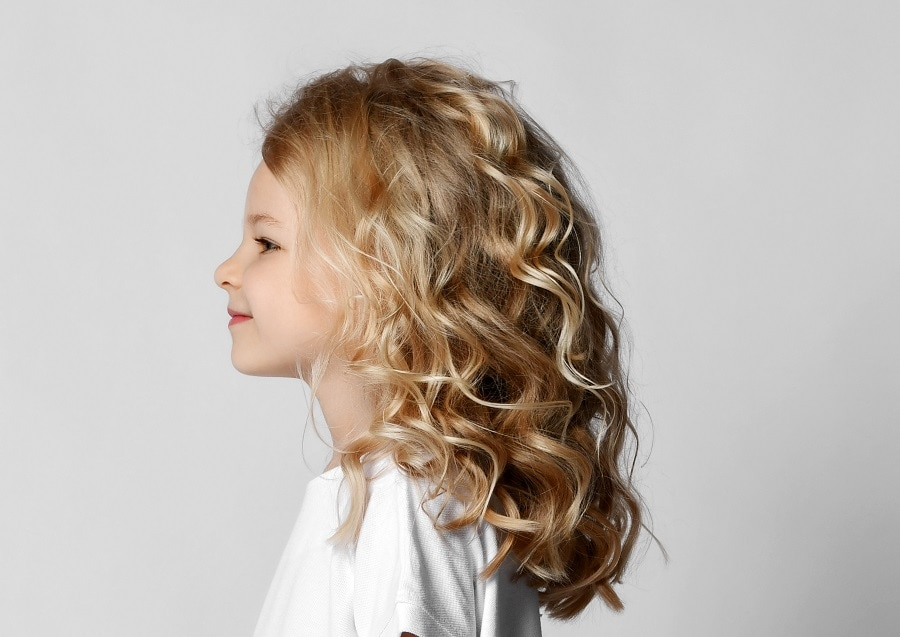 blonde curly haircuts for kids